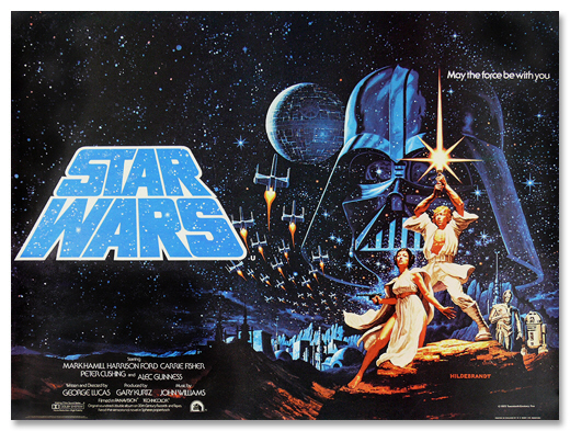 Star Wars first poster by The Brothers Hildebrandt