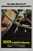2001: A Space Odyssey (1968) Re-release 1980 - Original US One Sheet Movie Poster
