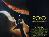 2010: The Year We Make Contact (1985) - Original British Quad Movie Poster