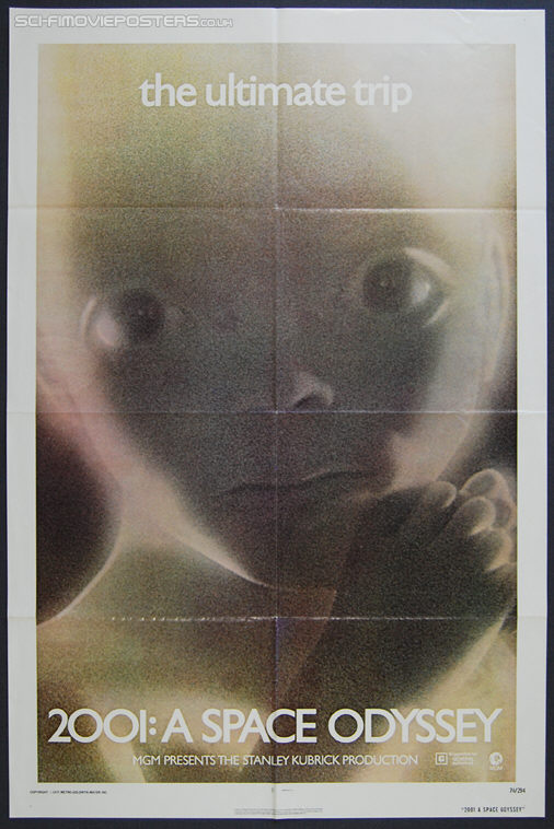 2001: A Space Odyssey (1968) Starchild - Original US One Sheet Movie Poster