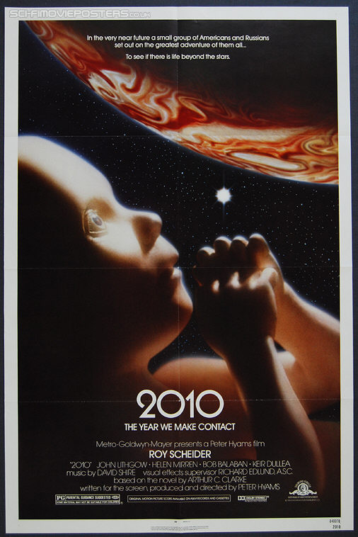 2010: The Year We Make Contact (1985) Original US One Sheet Movie Poster