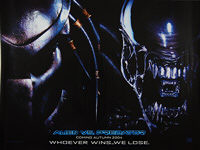AVP: Alien vs. Predator (2004) Advance - Original British Quad Movie Poster