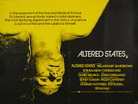 Altered States (1980) - Original British Quad Movie Poster
