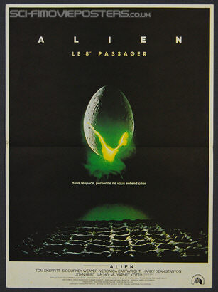 Alien (1979) - Original French Movie Poster