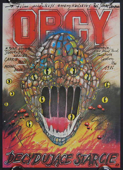 Aliens (1986) - Original Polish Movie Poster