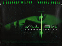 Alien: Resurrection (1997) - Original British Quad Movie Poster