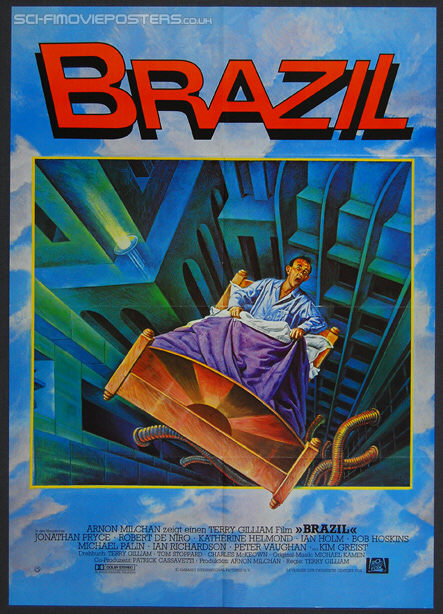 Brazil (1985) - Original German Movie Poster