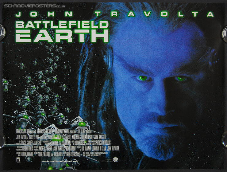 Battlefield Earth (2000) - Original British Quad Movie Poster