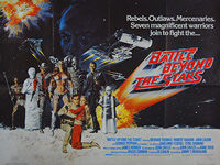 Battle Beyond The Stars (1980) - Original British Quad Movie Poster