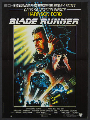 Blade Runner: The Director's Cut (1992) - Original French Movie Poster