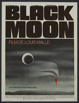 Black Moon (1975) - Original French Movie Poster