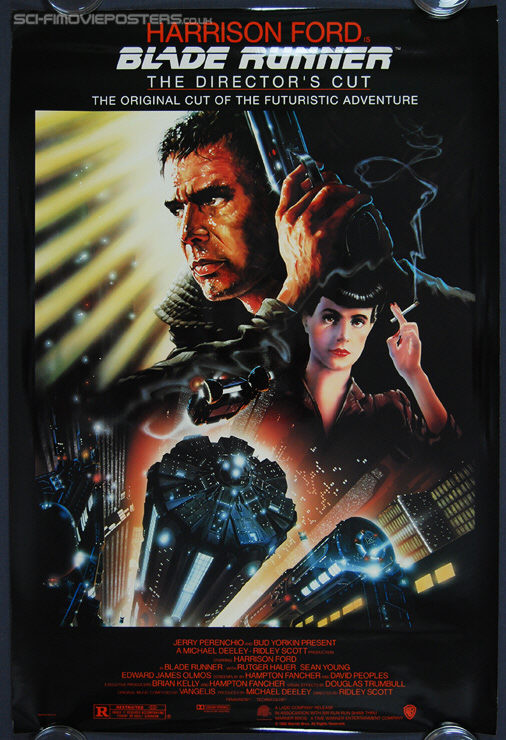 Blade Runner: The Director's Cut (1992) - Original US One Sheet Movie Poster