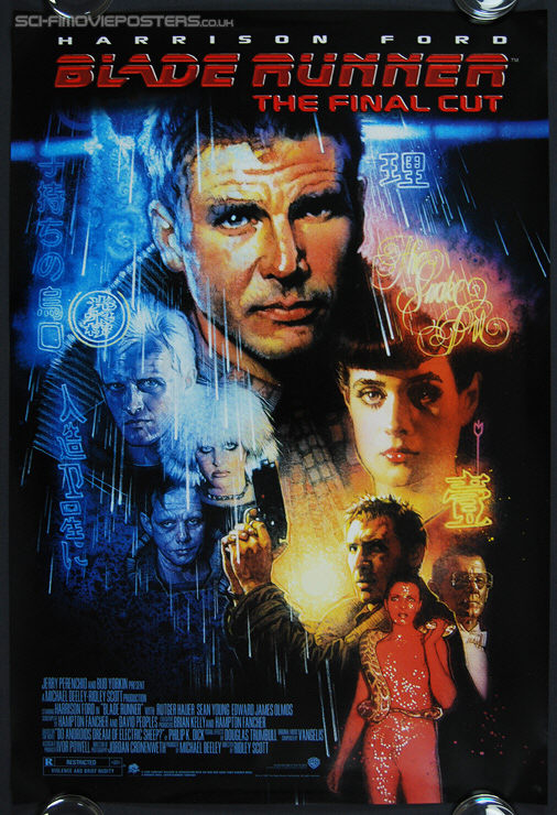 Blade Runner: The Final Cut (2007) - Original US One Sheet Movie Poster