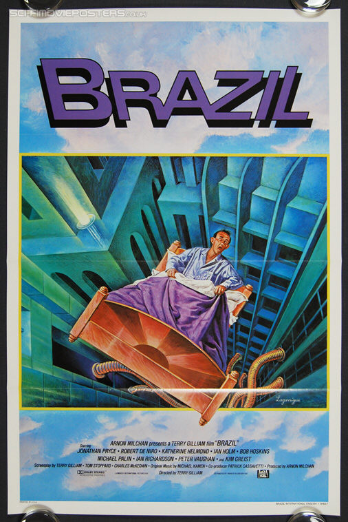 Brazil (1985) International English - Original International One Sheet Movie Poster