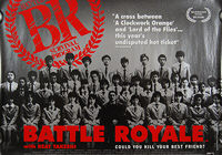 Battle Royale (2000) - Original British Quad Movie