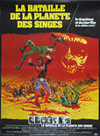 Battle for the Planet of the Apes (1973) - Origina French Movie Poster