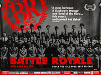Battle Royale (Batoru Rowaiaru) (2000) Limited release - Original British Quad Movie