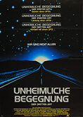 Close Encounters of the Third Kind (1977) - Original German Movie Poster