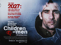 Children of Men (2006) - Original British Quad Movie Poster