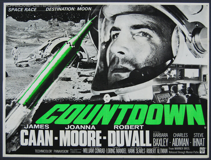 Countdown (1968) - Original British Quad Movie Poster