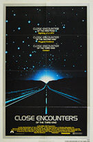 Close Encounters of the Third Kind (1977) 'PG' - Original US One Sheet Movie Poster