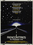 Close Encounters of the Third Kind (1977) - Original French Movie Poster