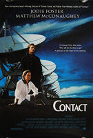 Contact (1997) - Original US One Sheet Movie Poster