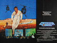 Capricorn One (1978) - Original British Quad Movie Poster