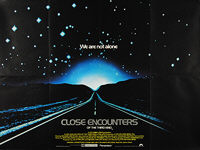 Close Encounters of the Third Kind: Special Edition (1980) - Original British Quad Movie Poster