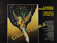 Clash of the Titans (1981) - Original British Quad Movie Poster