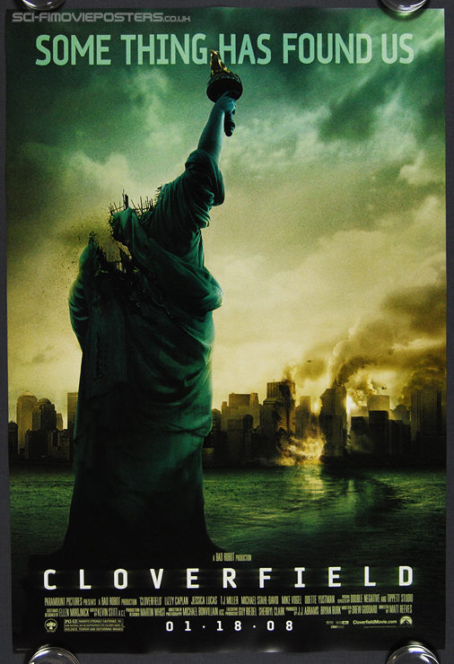 Cloverfield (2008) - Original US One Sheet Movie Poster