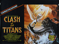 Clash of the Titans (1981) Advance - Original British Quad Movie Poster