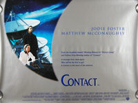 Contact (1997) - Original British Quad Movie Poster