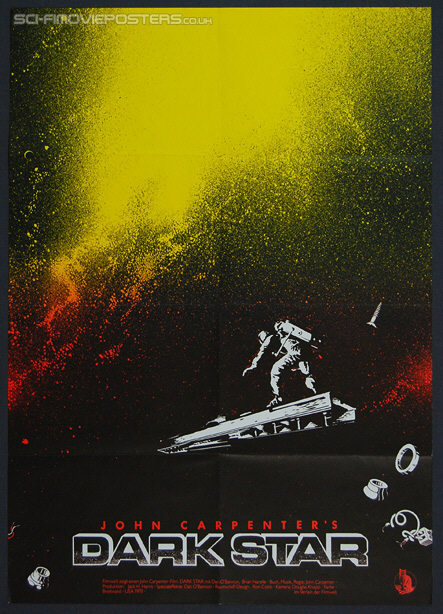 Dark Star (1974) - Original German Movie Poster