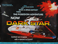Dark Star (1974) - Original British Quad Movie Poster