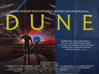 Dune (1984) - Original British Quad Movie Poster