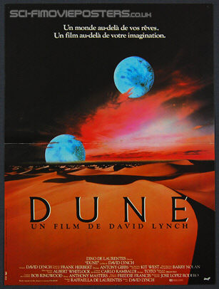 Dune (1984) - Original French Movie Poster