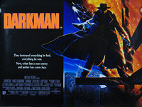 Darkman (1990) - Original British Quad Movie Poster