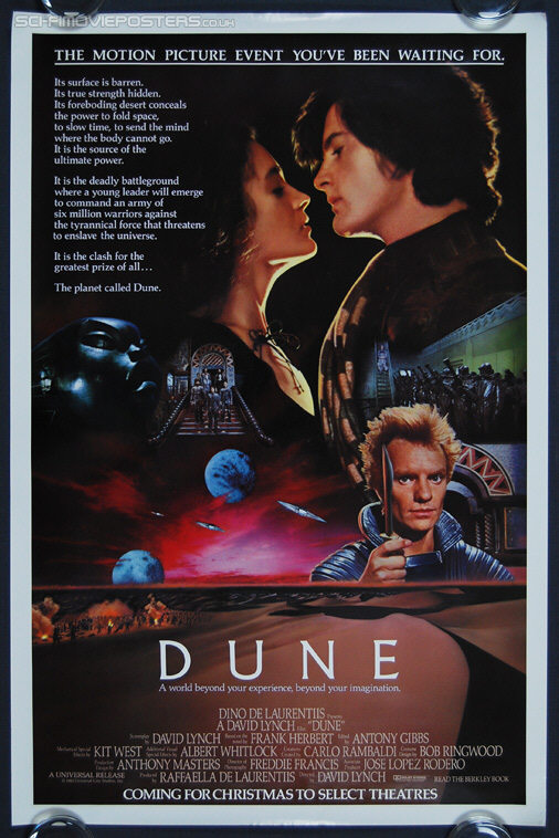 Dune (1984) Advance - Original US One Sheet Movie Poster