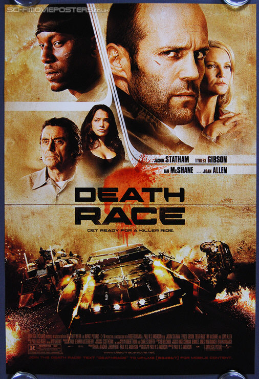 Death Race (2008) - Original US One Sheet Movie Poster