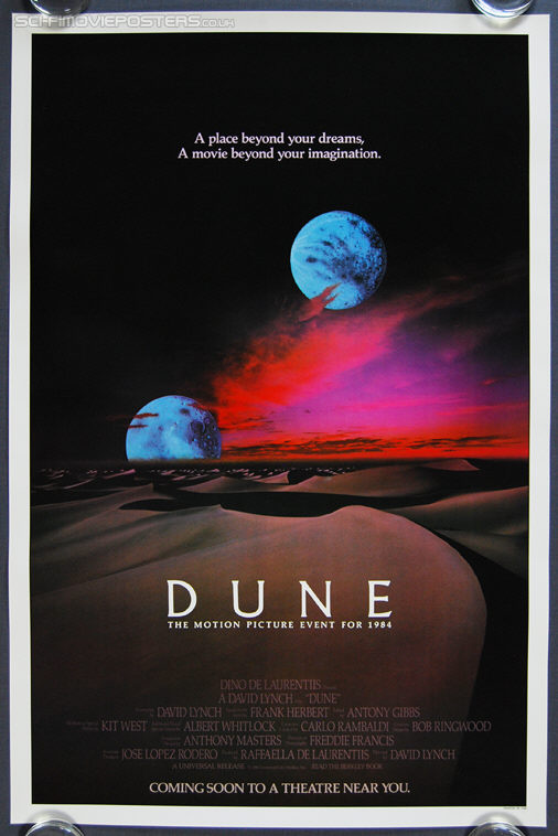 Dune (1984) Two Moons - Original US One Sheet Movie Poster