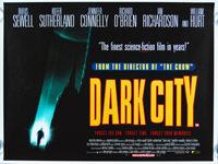 Dark City (1998) - Original British Quad Movie Poster