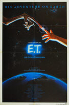 E T: The Extra-Terrestrial (1982) - Original US One Sheet Movie Poster
