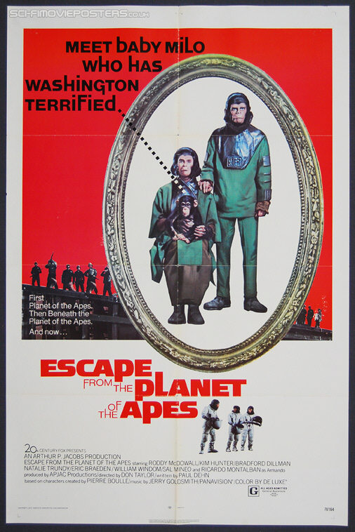 Escape from the Planet of the Apes (1971) - Original US One Sheet Movie Poster