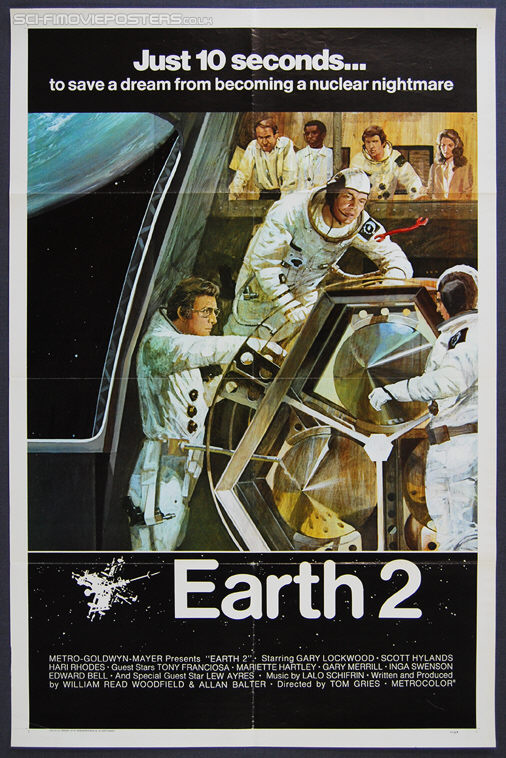 Earth II (1971) - Original US One Sheet Movie Poster