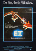 E T: The Extra-Terrestrial (1982) - Original German Movie Poster