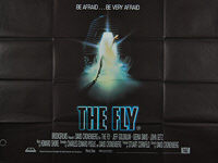 Fly, The (1986) - Original British Quad Movie Poster