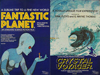 Fantastic Planet, The (La Planète Sauvage) (1973) / Crystal Voyager (1975) - Original British Quad Movie Poster