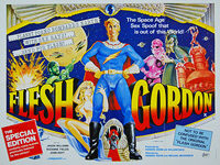 Flesh Gordon (1974) Special Edition - Original British Quad Movie Poster