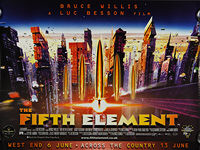 Fifth Element, The (1997) - Original British Quad Movie Poster